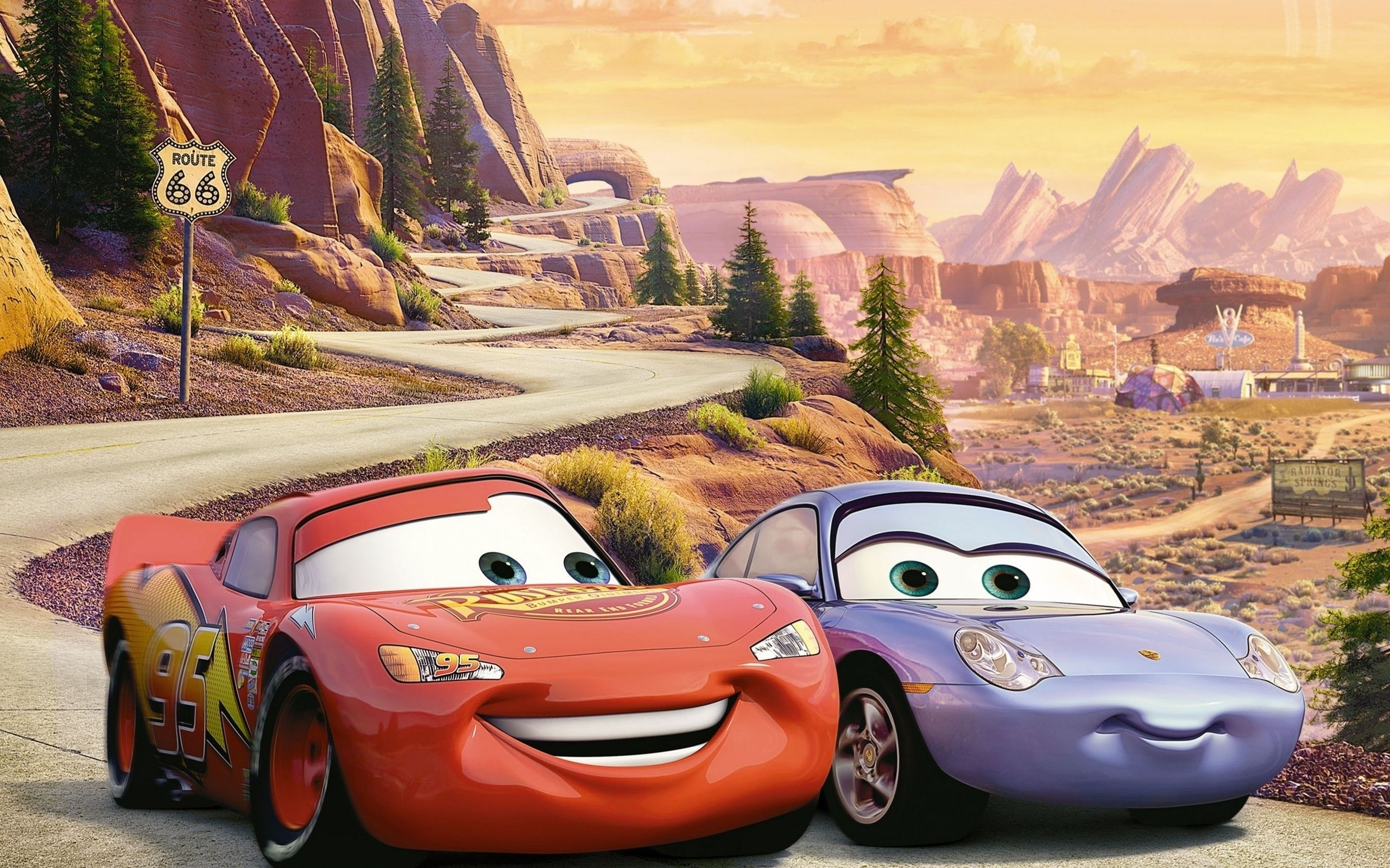 Cars 3 story teased by john lasseter collider for Cars movie wall mural