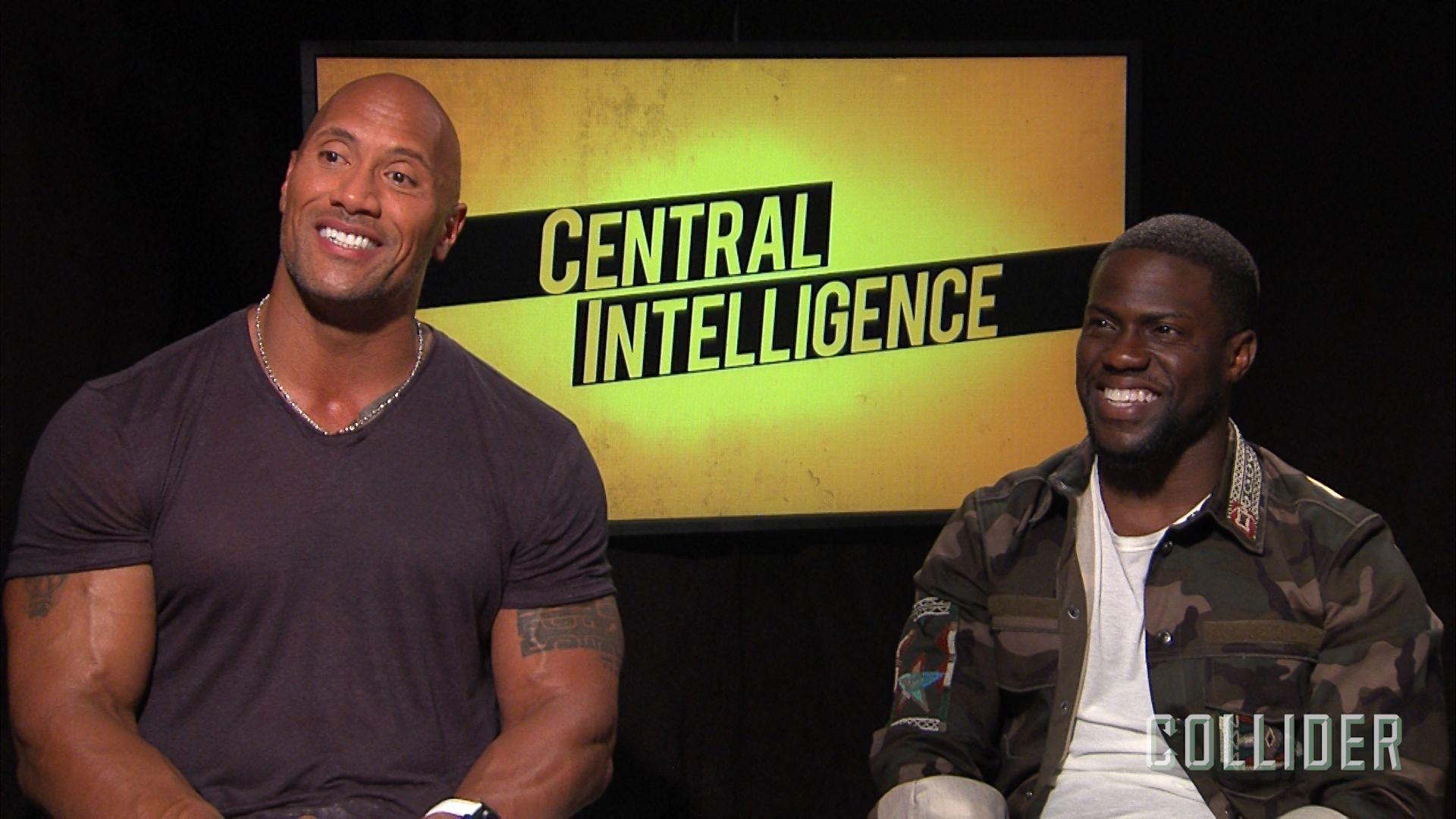 Dwayne Johnson Kevin Hart On Central Intelligence