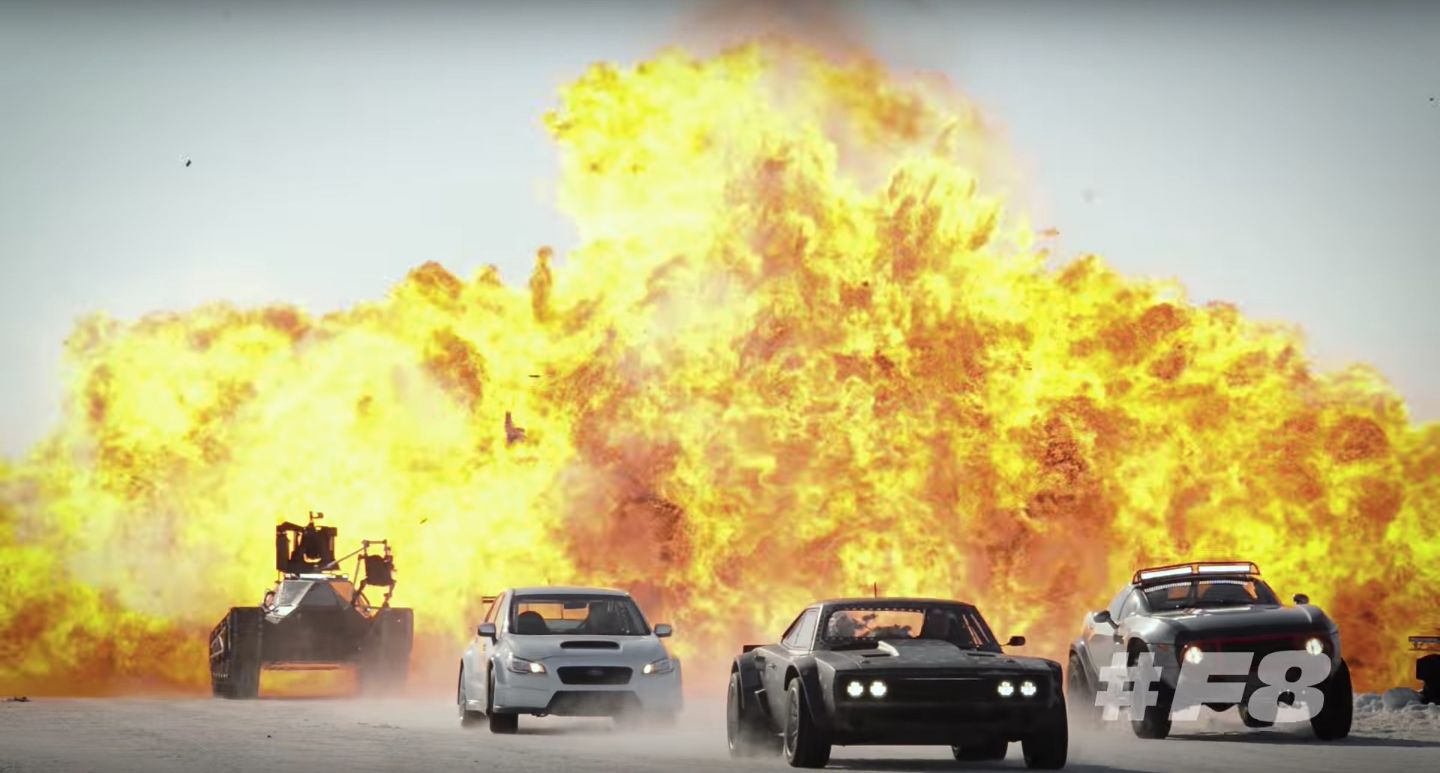 Fast And Furious Video Details Making Of Zombie Cars Stunt - Behind the scenes fast and furious 7 stunts
