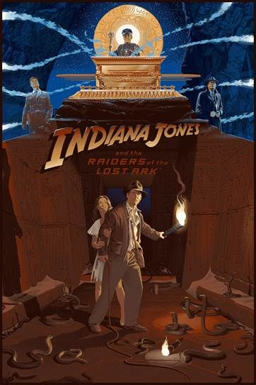 indiana-jones-and-the-raiders-of-the-lost-ark-35th-anniversary-screen-print-laurent-durieux