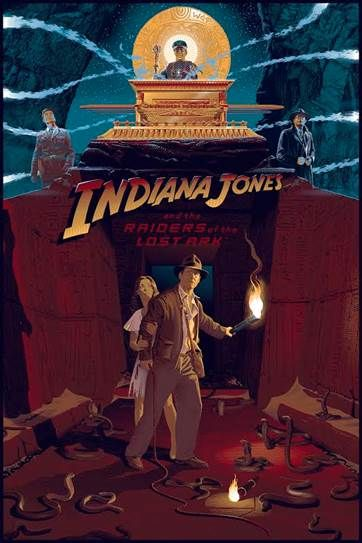 indiana-jones-and-the-raiders-of-the-lost-ark-35th-anniversary-screen-print-variant-laurent-durieux