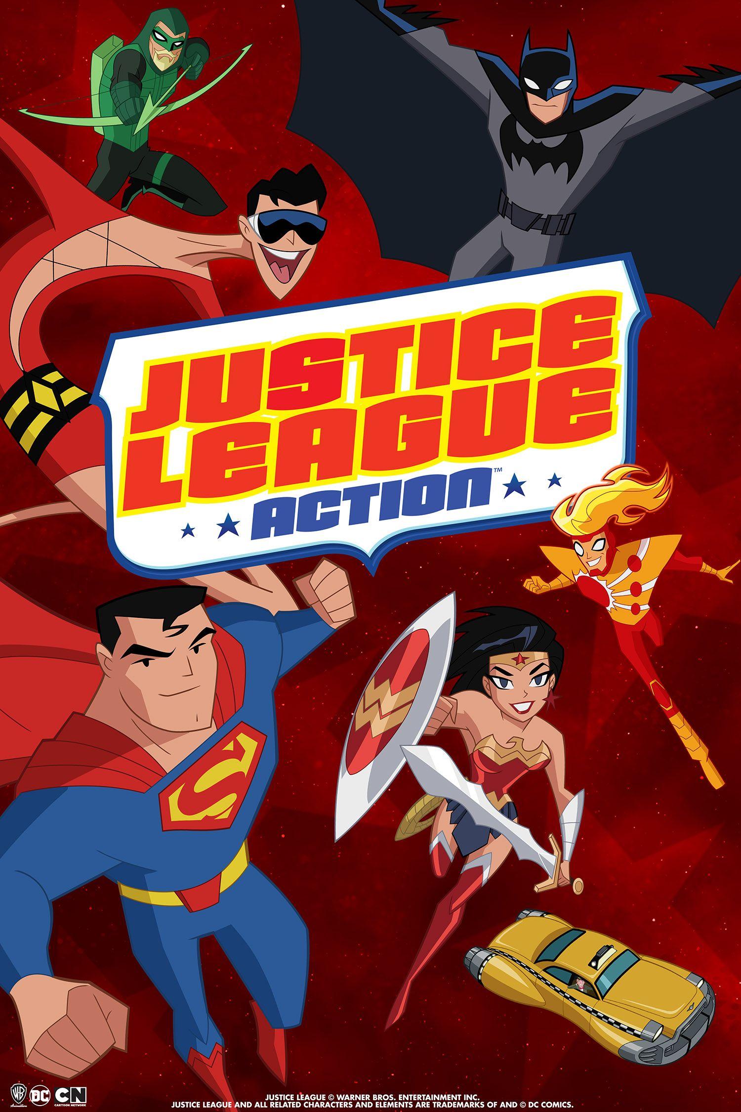 Justice League Action Review: Heroics Meet Humor   Collider