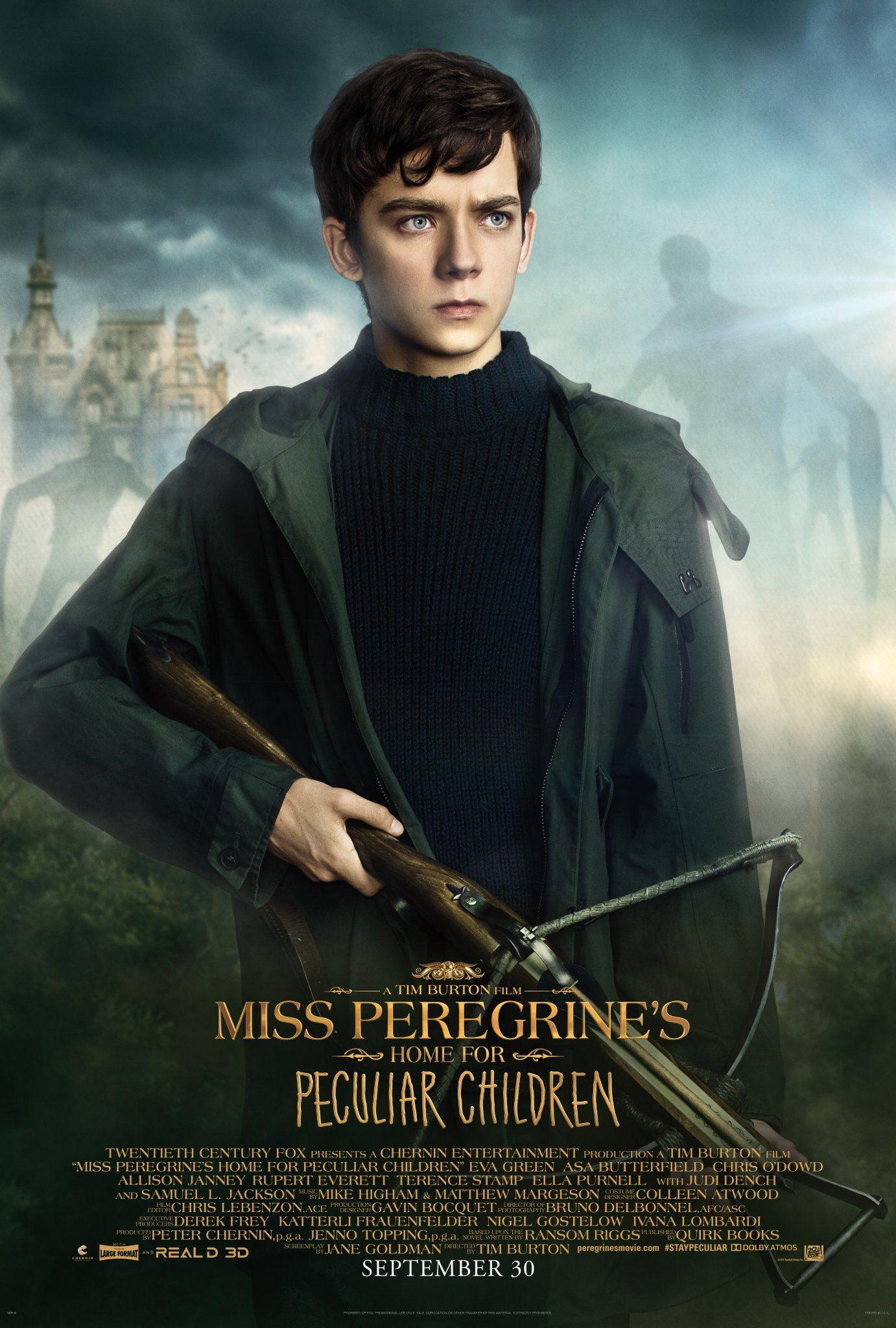 Miss Peregrine's Home for Peculiar Children Movie Posters
