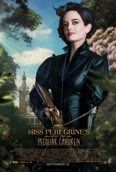 miss-peregrines-home-for-peculiar-children-poster-eva-green