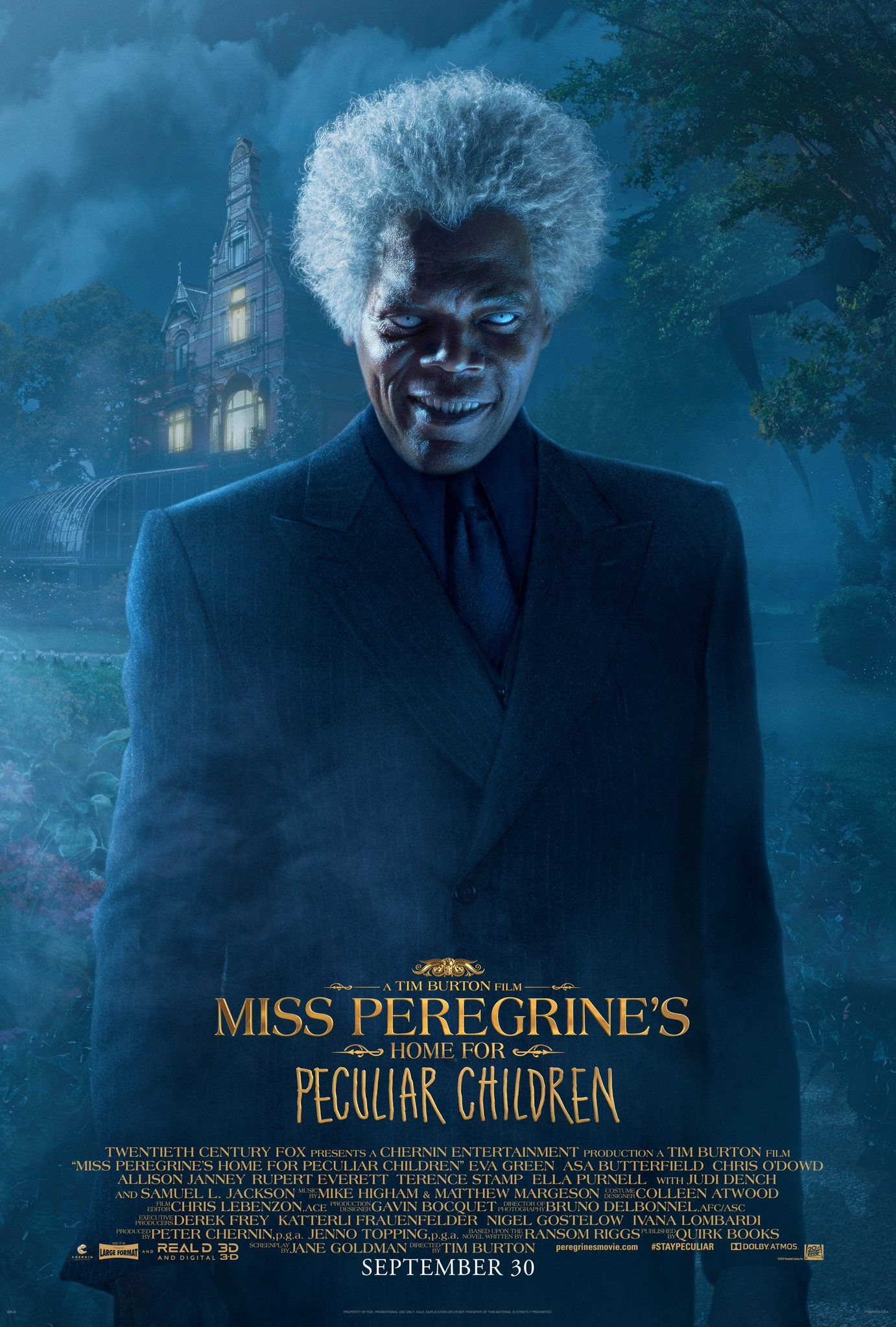 Miss Peregrine's Home for Peculiar Children: New Trailer ...