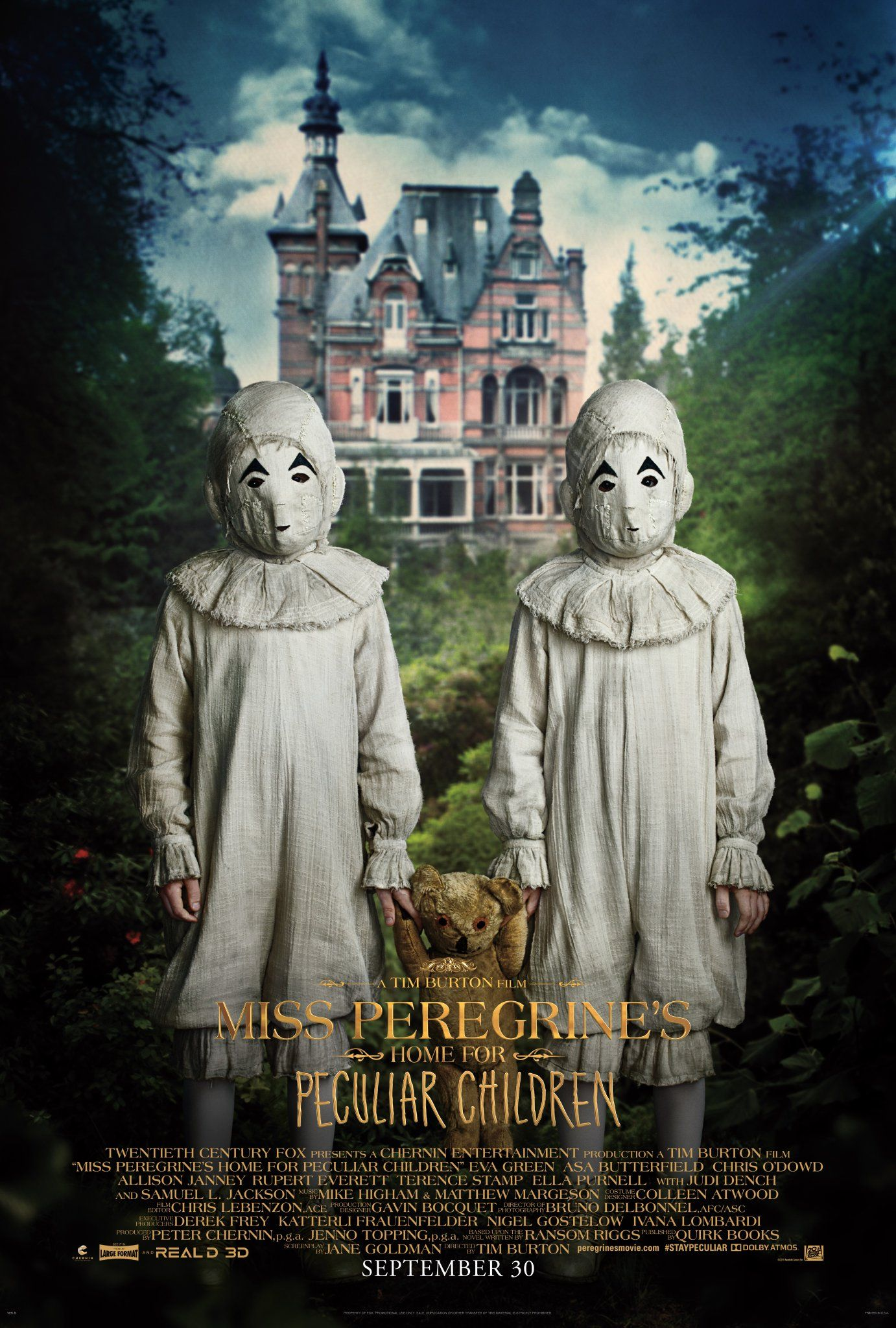 Miss Peregrine S Home For Peculiar Children Movie Posters Collider