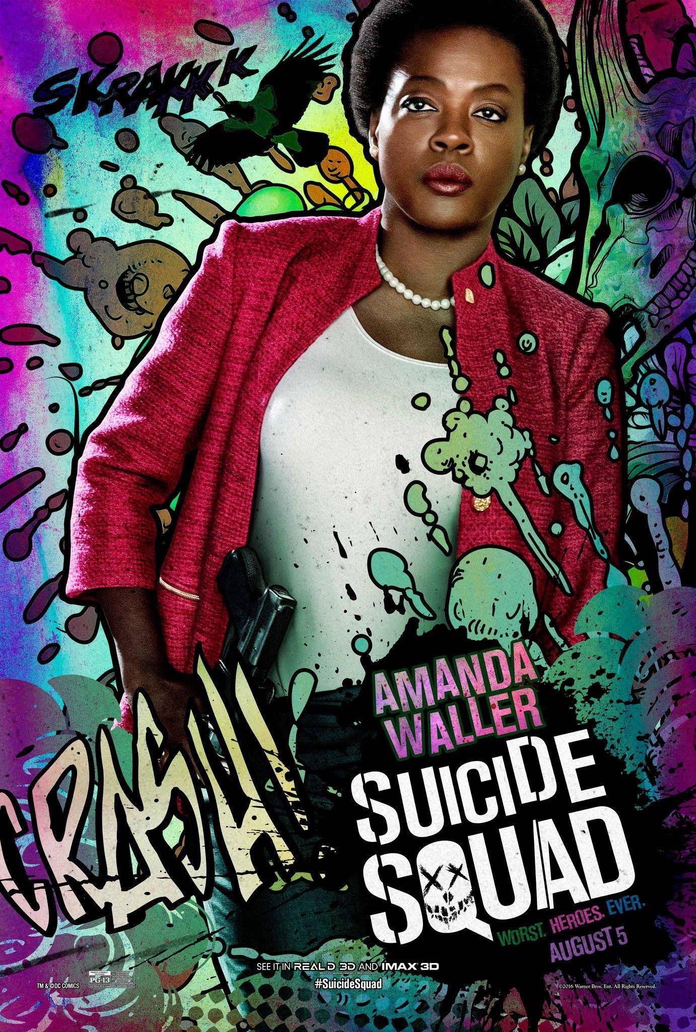 New Suicide Squad Ad Lets Viola Davis Amanda Waller Shine