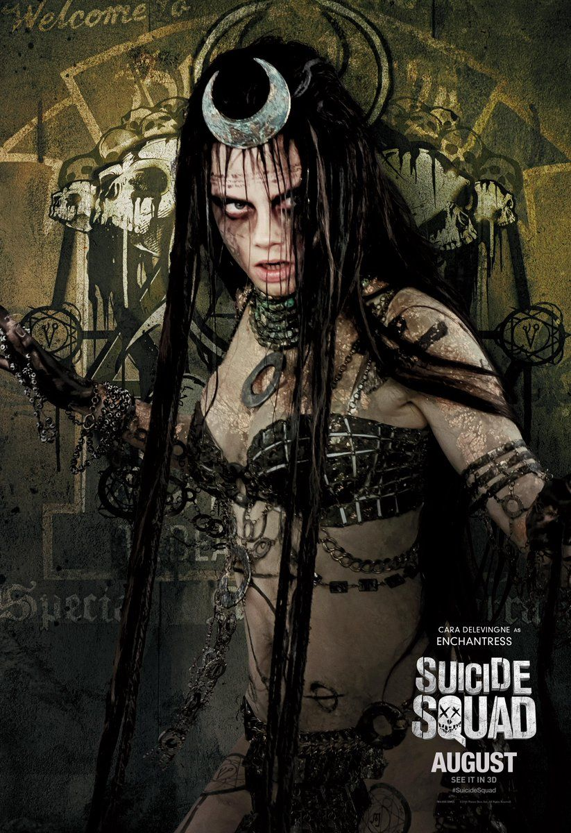 Squad enchantress hot suicide Funko Mystery