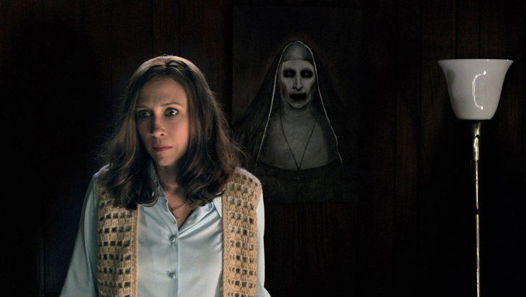 Image result for the nun scene