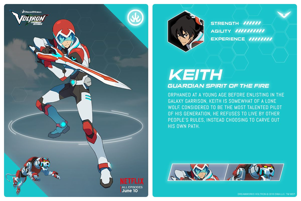 Voltron Legendary Defender Images Reveal The New Team