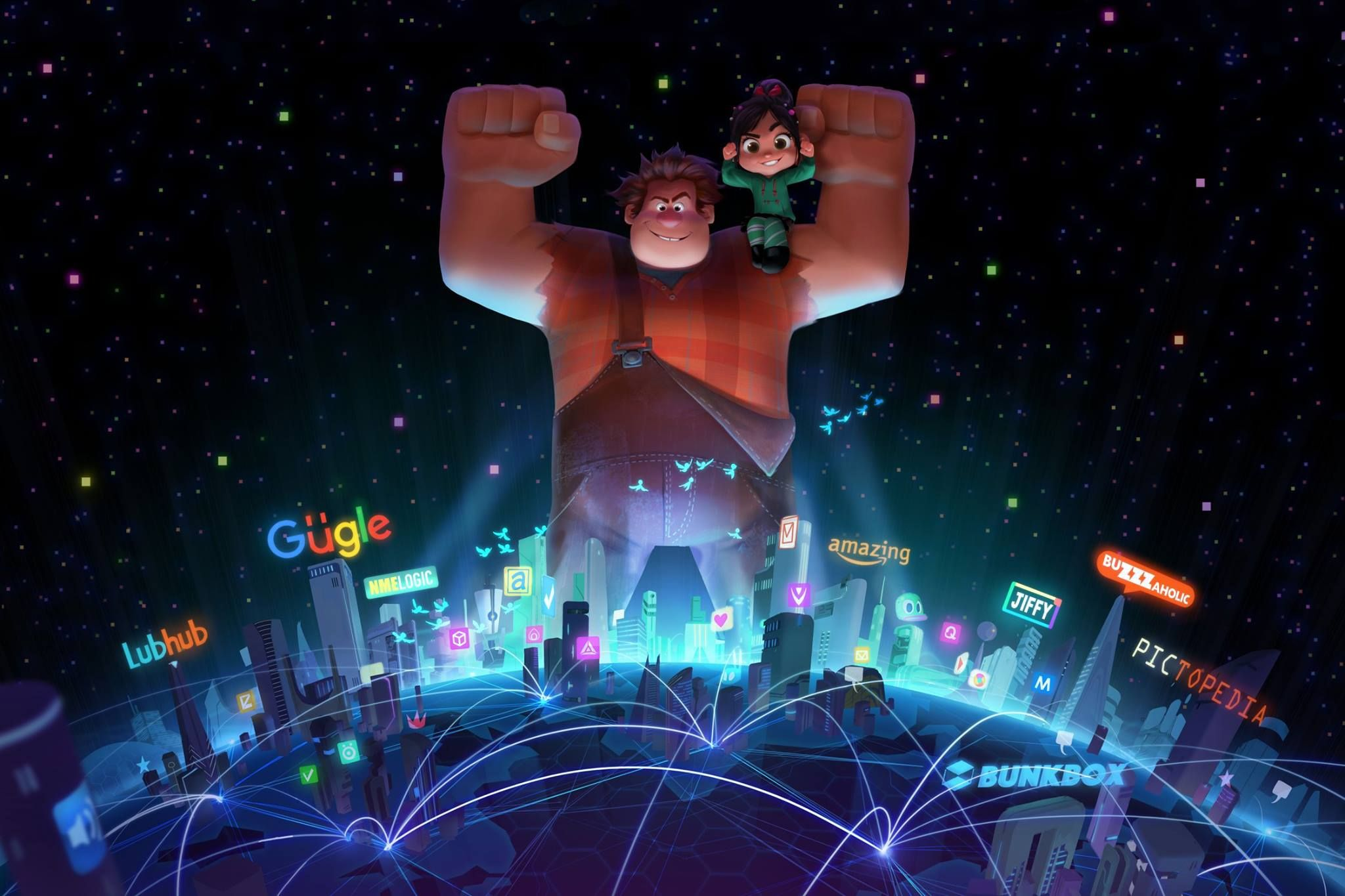 Untitled Wreck-It Ralph Sequel (2018) Worldfree4u – Full Movie Dual Audio BRRip 720P English ESubs
