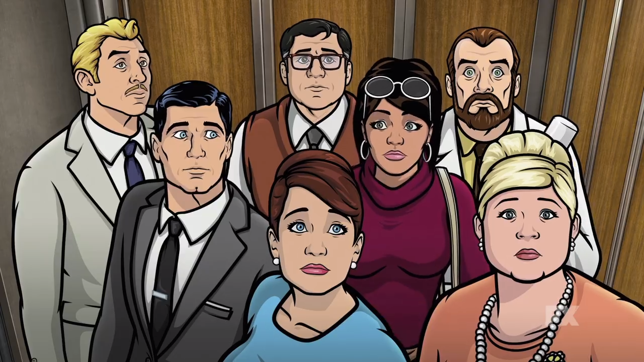 Archer Live Sets Sail at Comic-Con 2016 | Collider