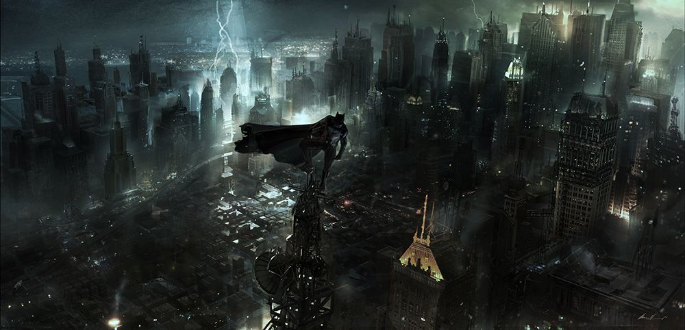 Batman Vs Superman Concept Art