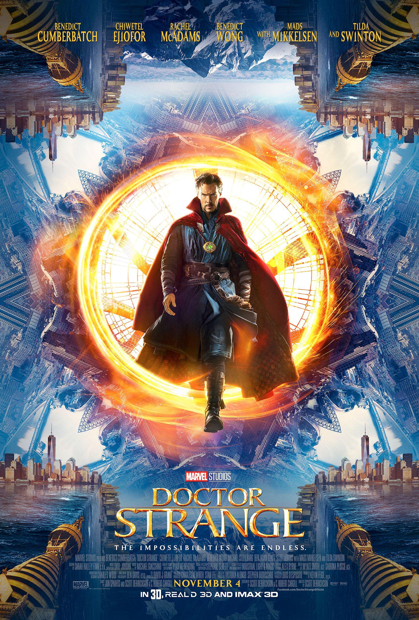 Doctor Strange Film: Doctor Strange New Trailer: Benedict Cumberbatch Is Magic