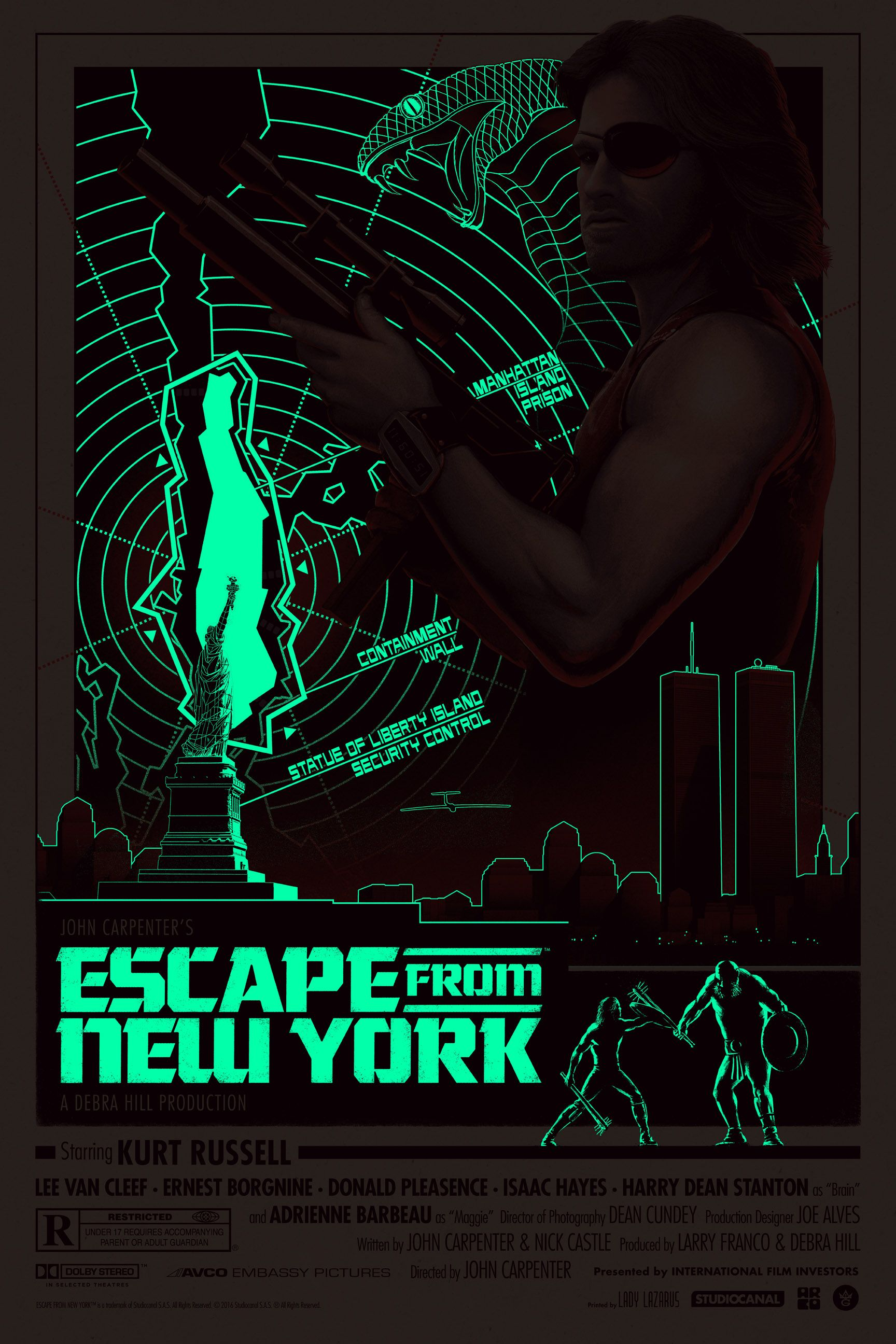 Escape From New York Poster.Escape From New York Gets A Cool Poster By Matt Ferguson Collider
