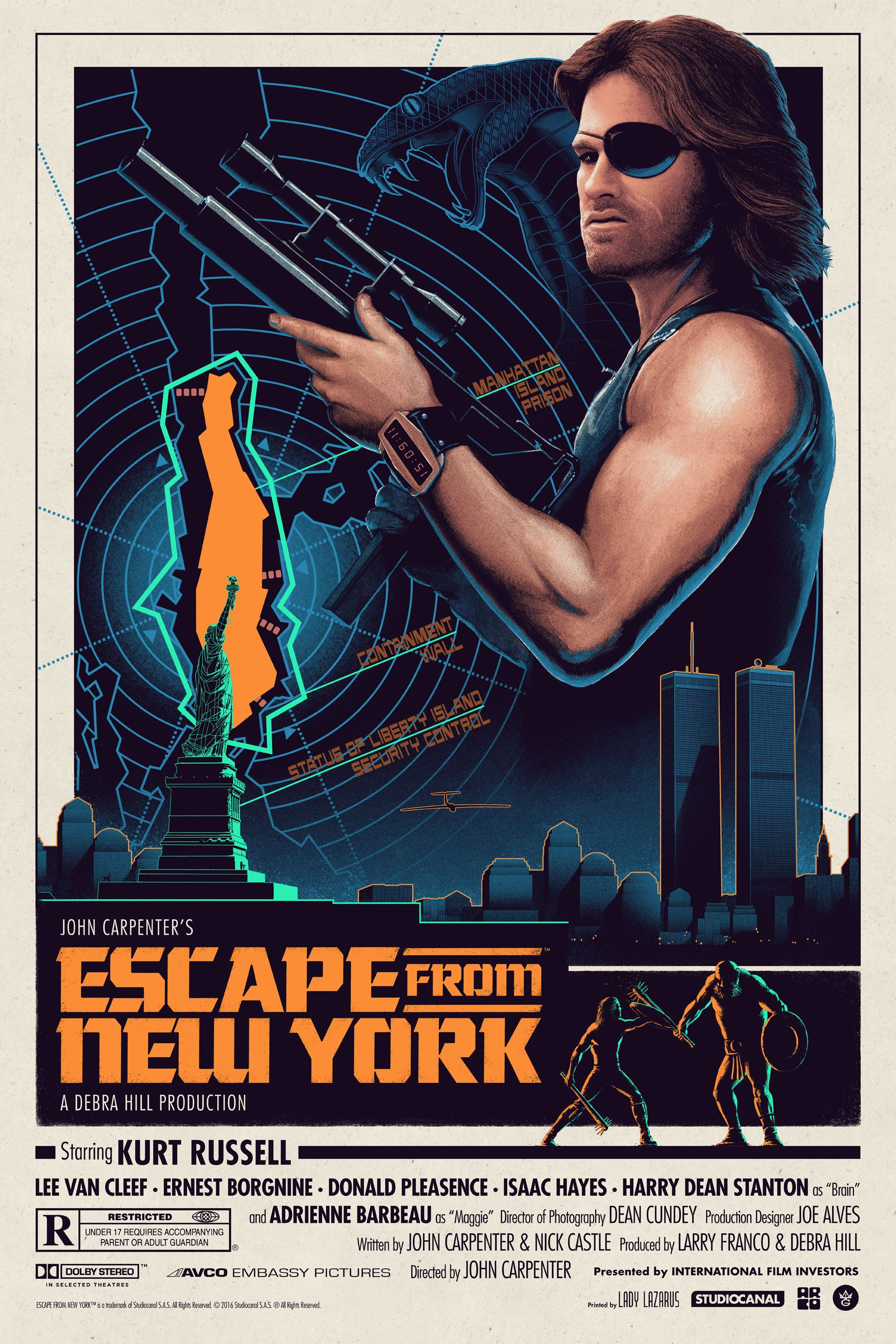 Escape from New York Gets a Cool Poster by Matt Ferguson ...