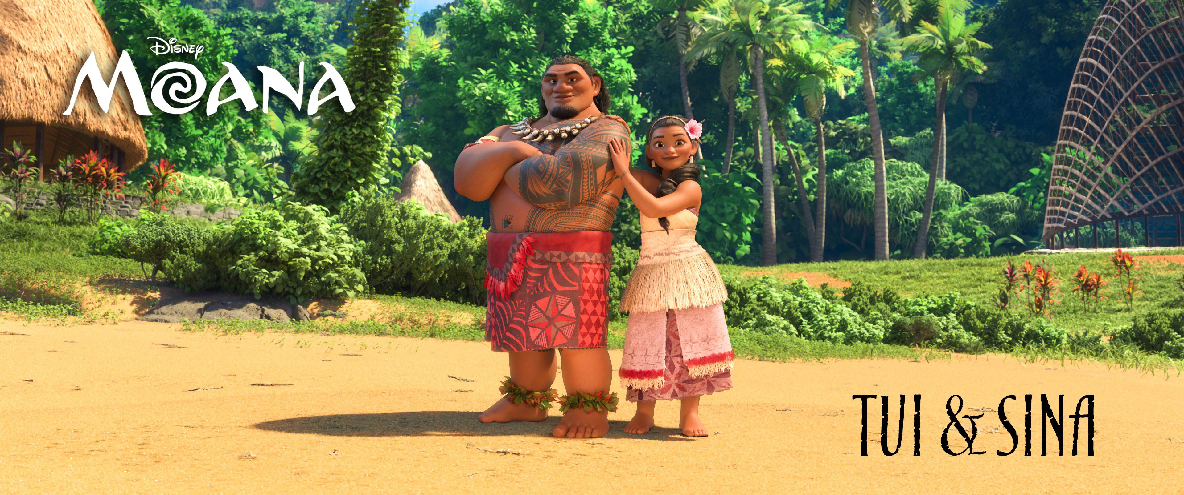 Moana Cast And Characters Revealed In New Colorful Images Collider