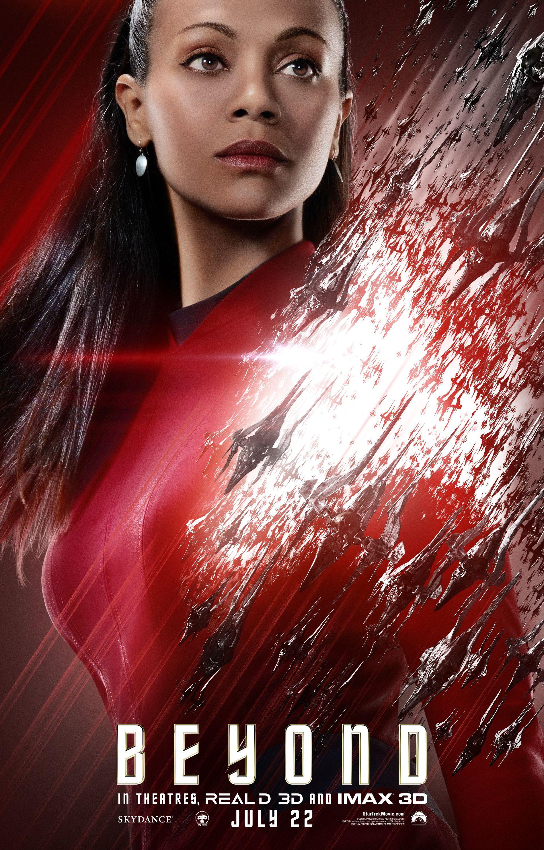 Star Trek Beyond John Cho And Zoe Saldana Interview Collider