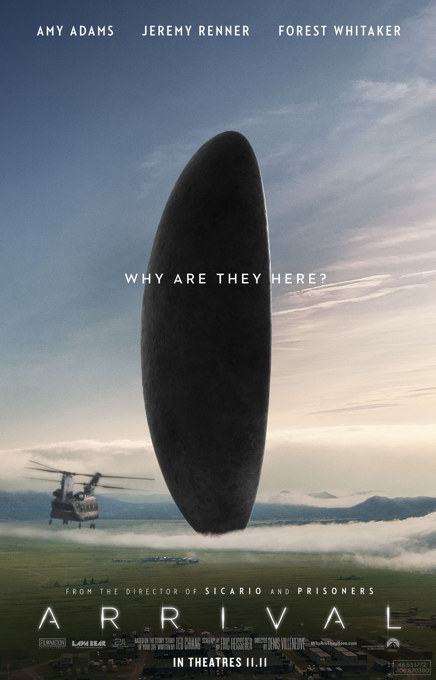 the arrival A shy radio telescope operator named zane ziminski (charlie sheen) picks up a series of regular signals coming from space -- and deliberately pointed toward earth.