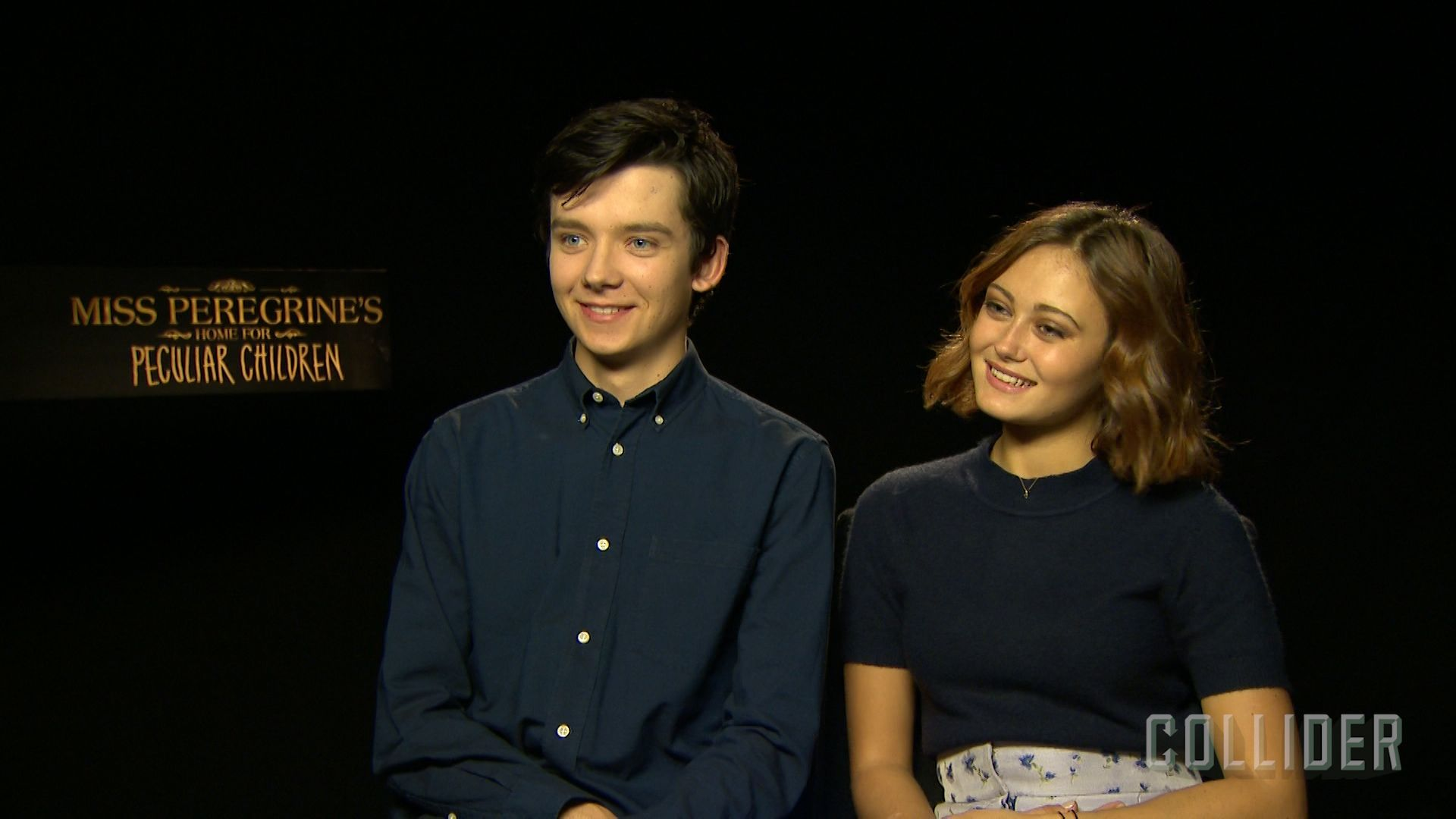 Asa Butterfield Ella Purnell On Miss Peregrine S Home For