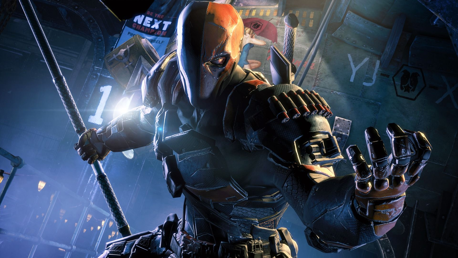 a deathstroke movie isn t going to happen anytime soon collider