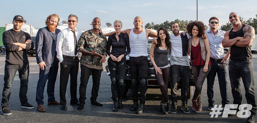Image result for the fate of the furious cast