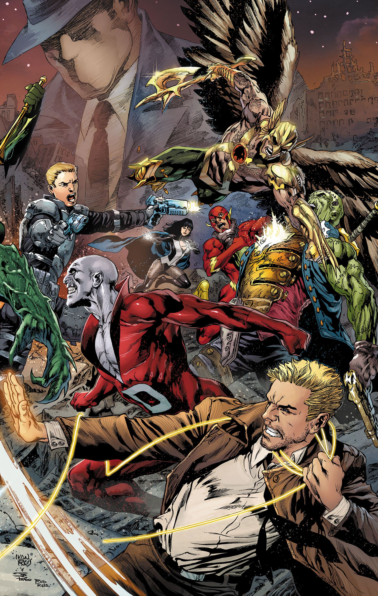 Justice League Dark Concept Art Revealed By Joseph Kahn
