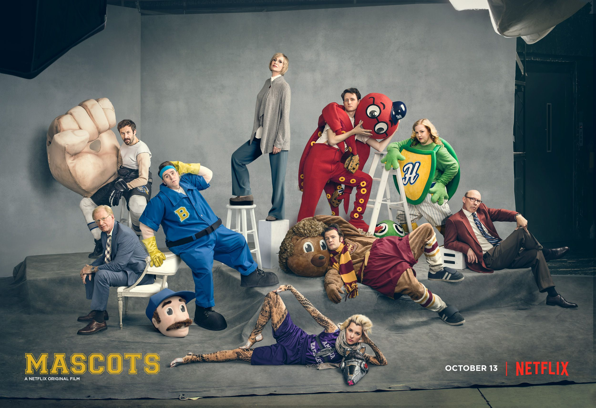 Image result for mascots netflix