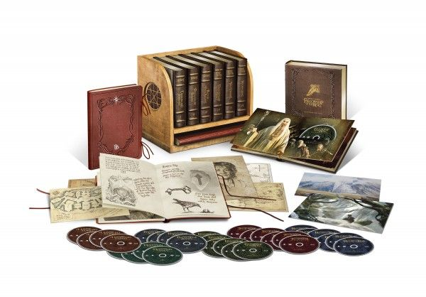 Lord Of The Rings Extended Blu Ray Collector