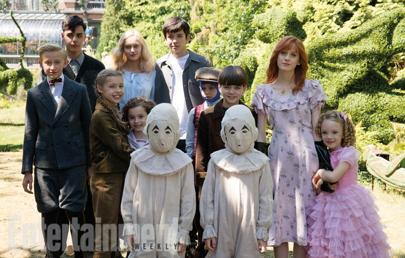 Image result for miss peregrine home for peculiar children cast