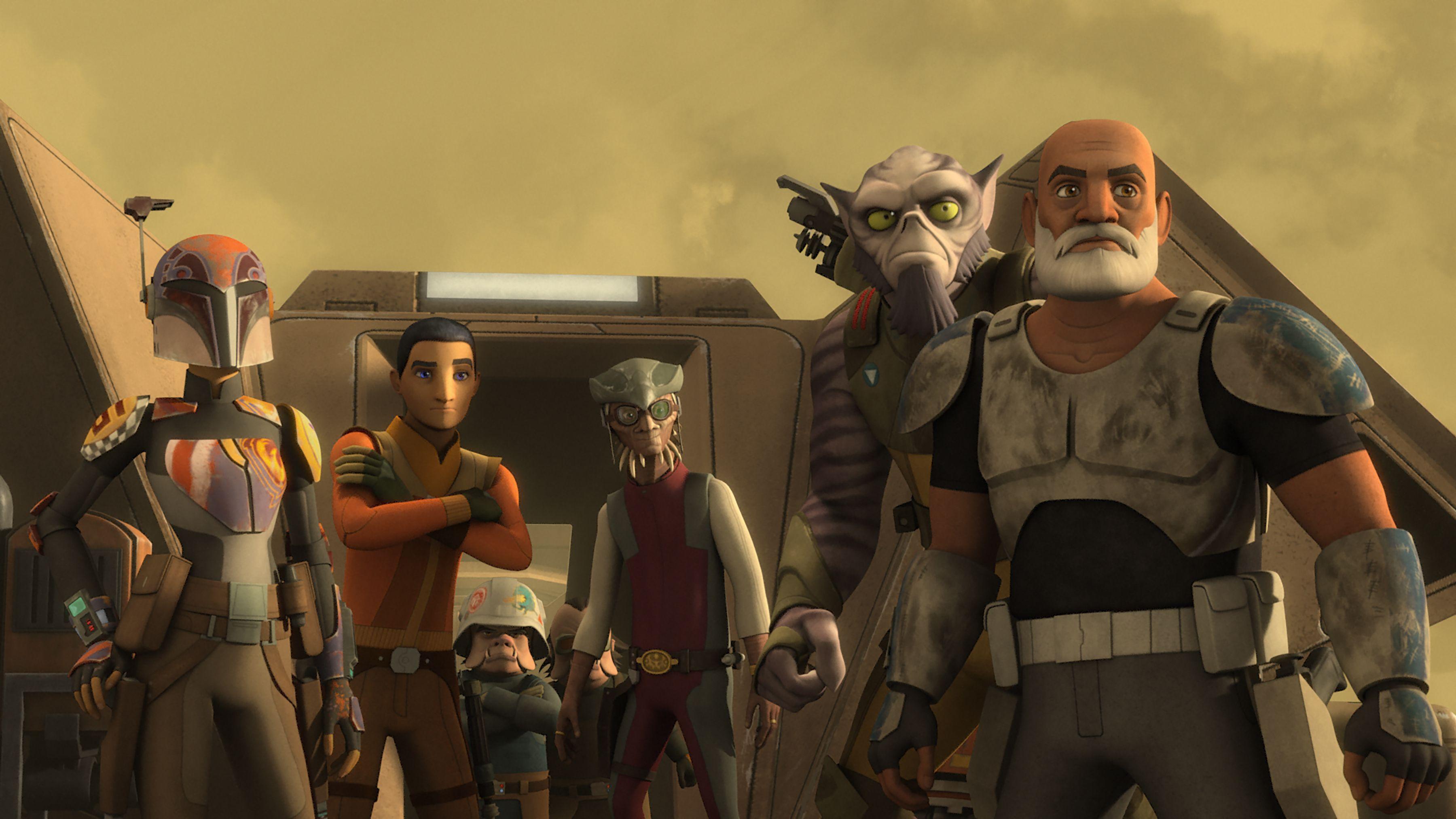 Star Wars Rebels Season 3 Premiere Date Confirmed Collider