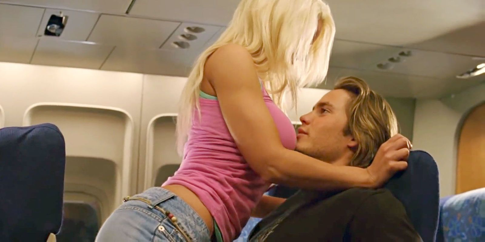airplane bathroom sex video