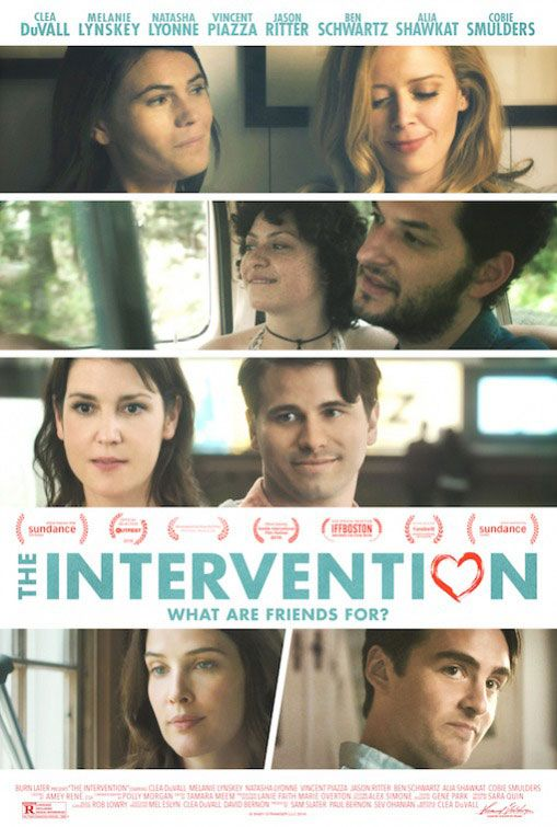 cobie smulders and the cast of the intervention play would you