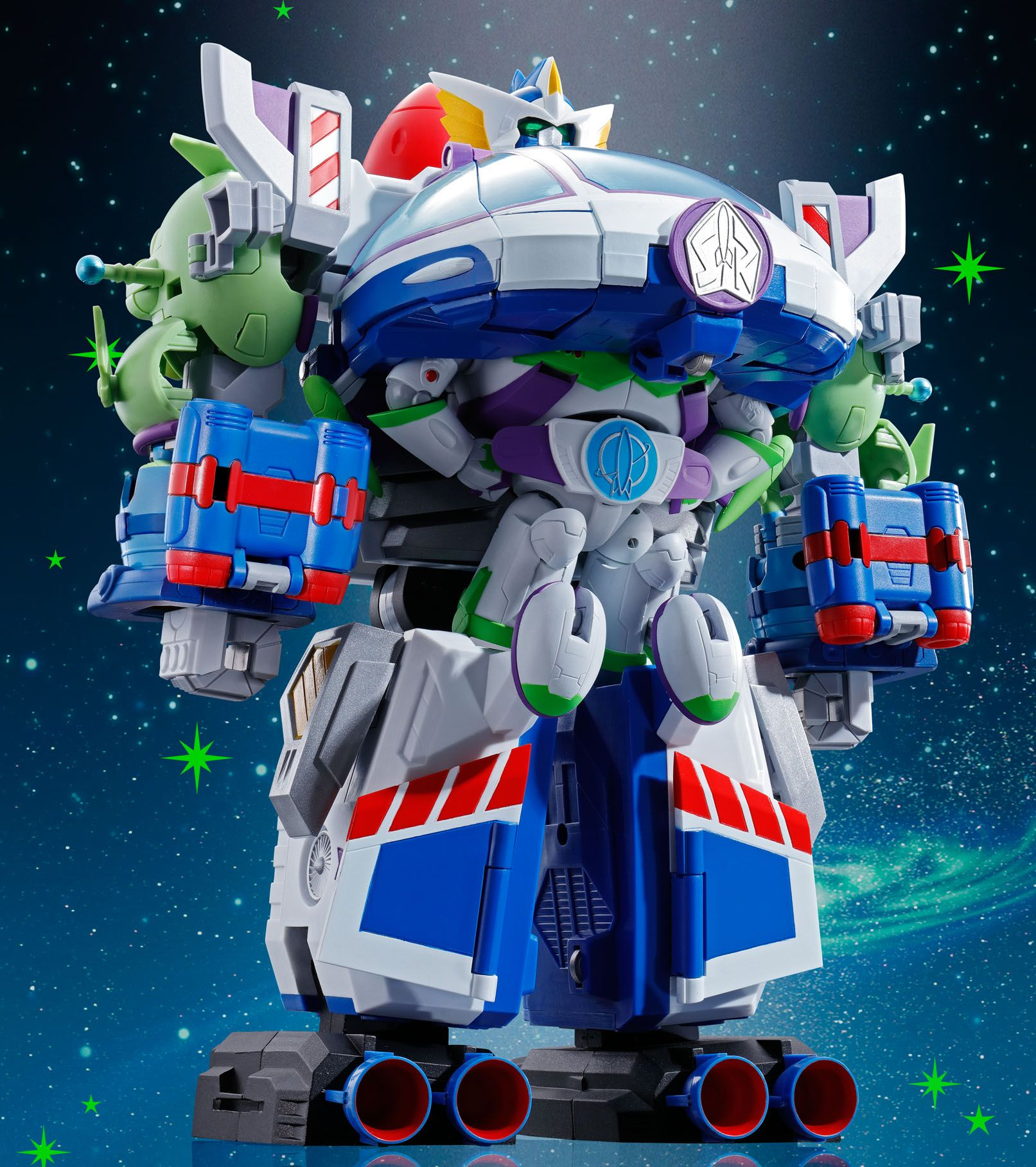 Toy Story Characters by Bandai Form a Voltron Like Mega Toy