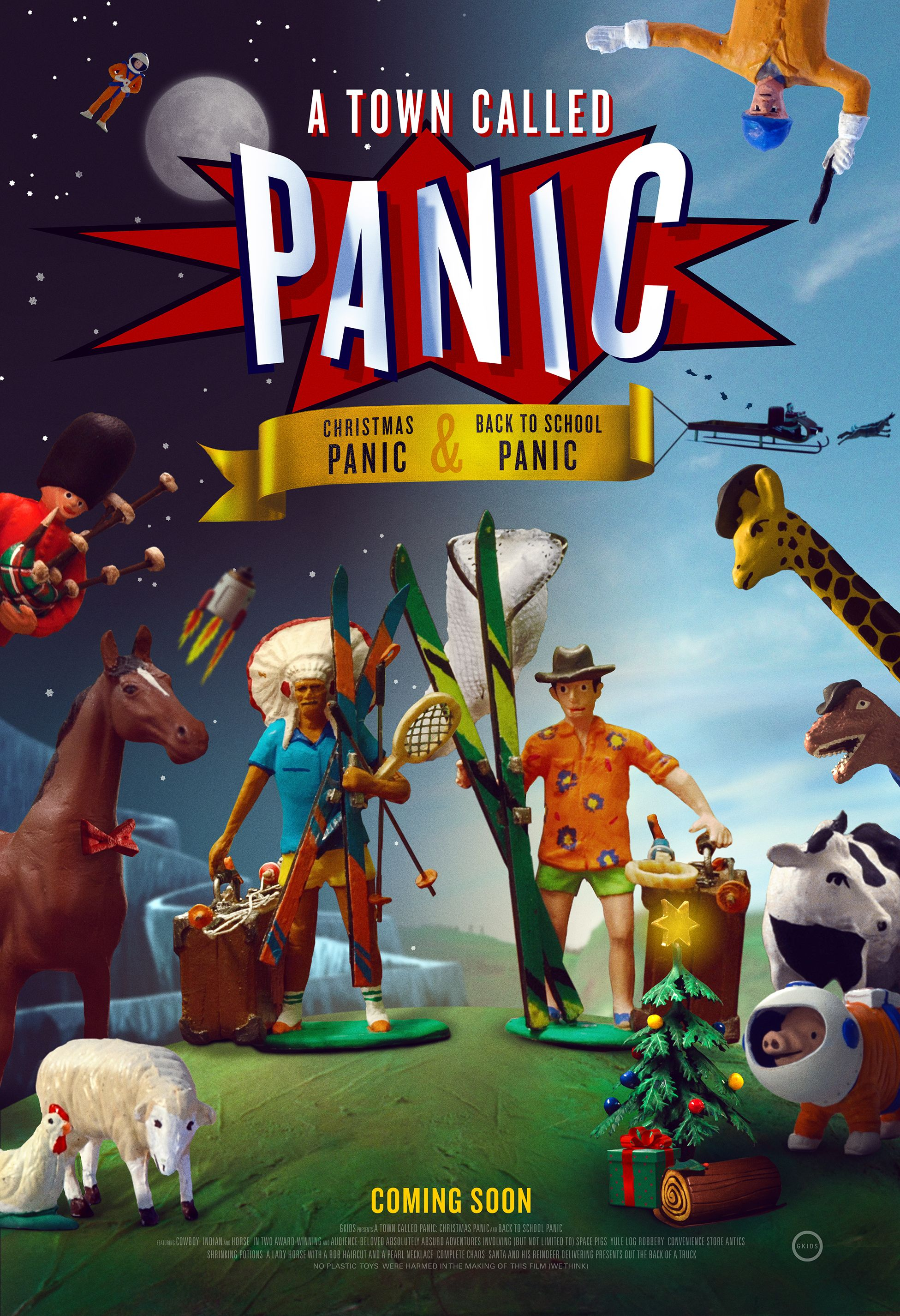 A Town Called Panic: Double Fun Trailer Teases Stop-Motion ...