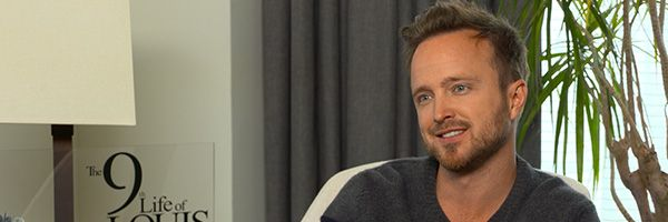 aaron-paul-the-9th-life-of-louis-drax-interview-slice
