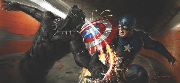 Captain America Civil War Concept Art Images Reveal Early