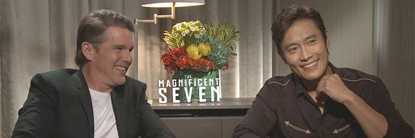 ethan-hawke-byung-hun-lee-the-magnificent-seven-interview-tiff-slice