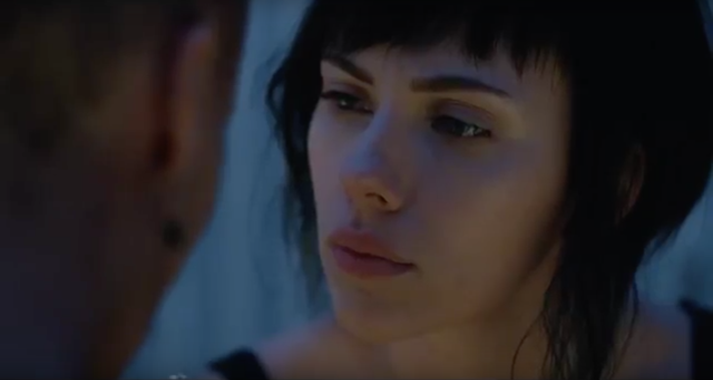 Ghost In The Shell Clips: Scarlett Johansson As The Major