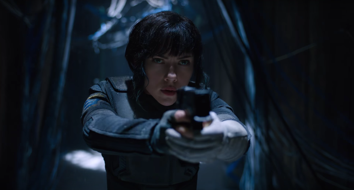 Ghost In The Shell Scarlett Johansson On Bringing The Major To Life Collider
