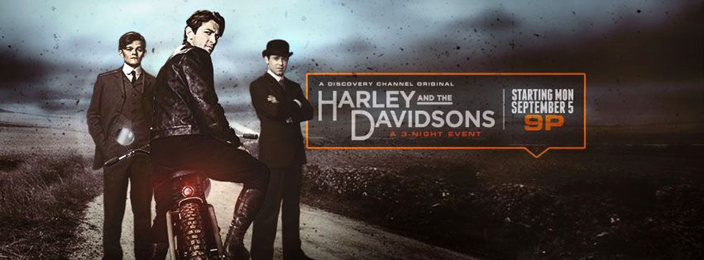 harley and the davidsons banner