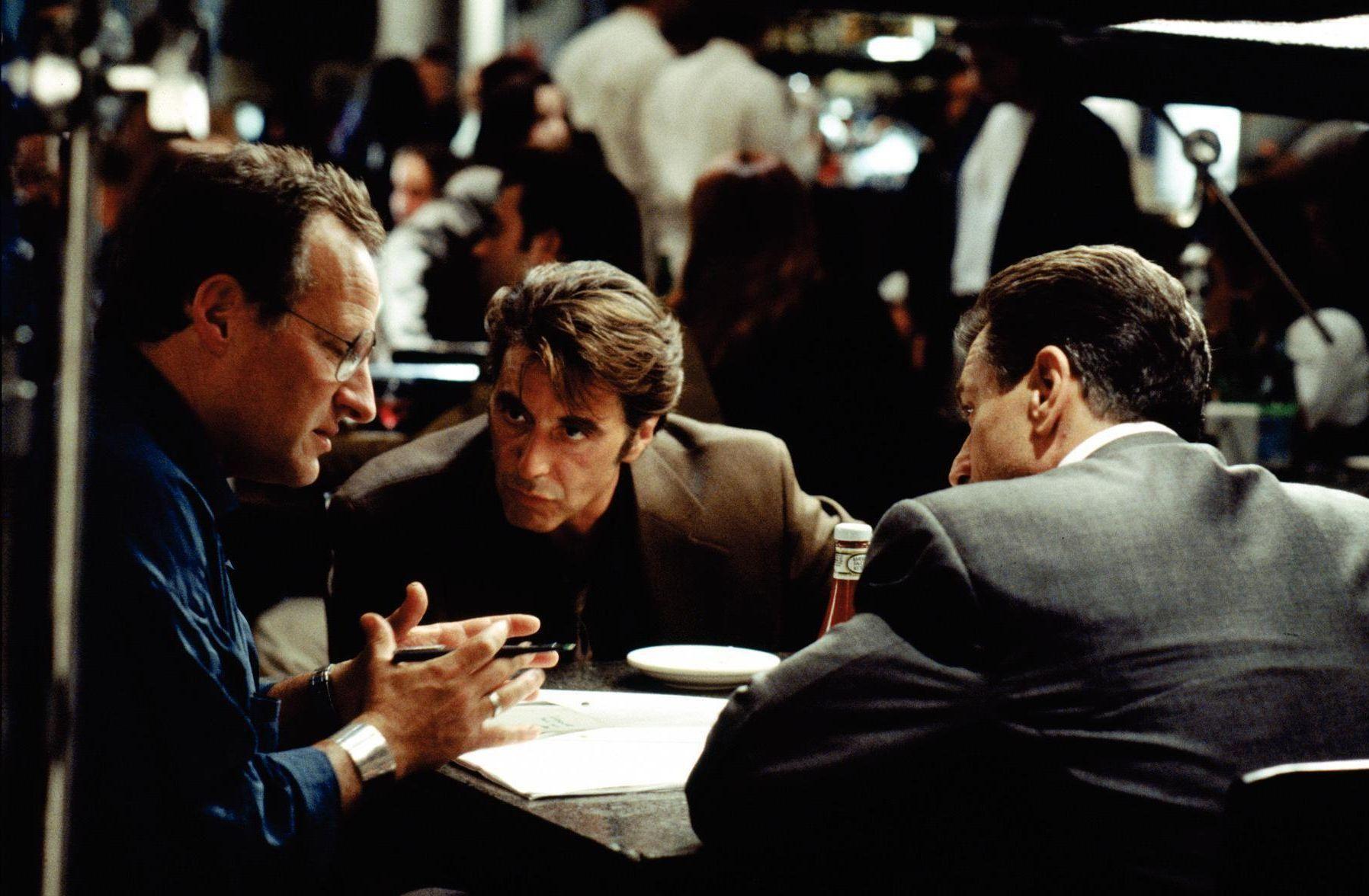 Heat Q&A with Michael Mann, Al Pacino, and Robert De Niro ...