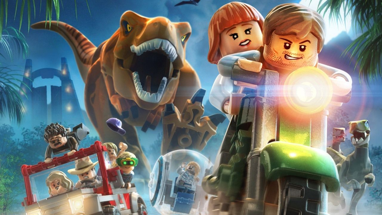 how to turn into a dinosaur in lego jurassic world