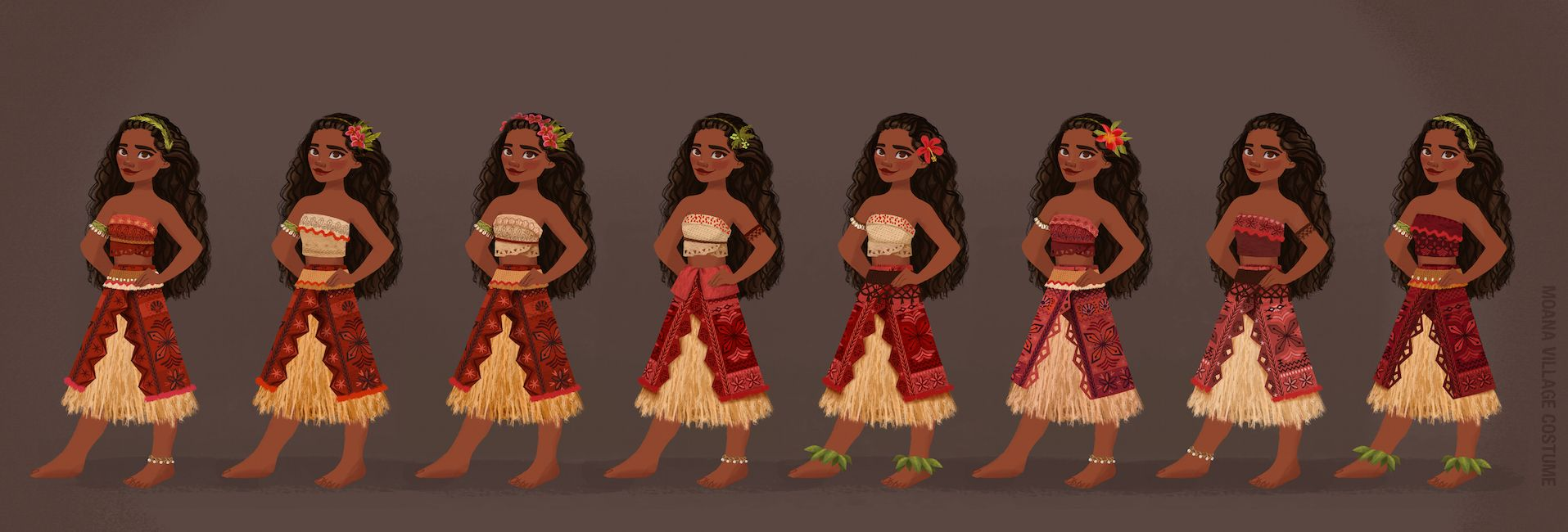 Young fashion hawaiian dresses 38