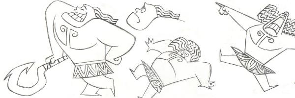 how to draw moana& 39