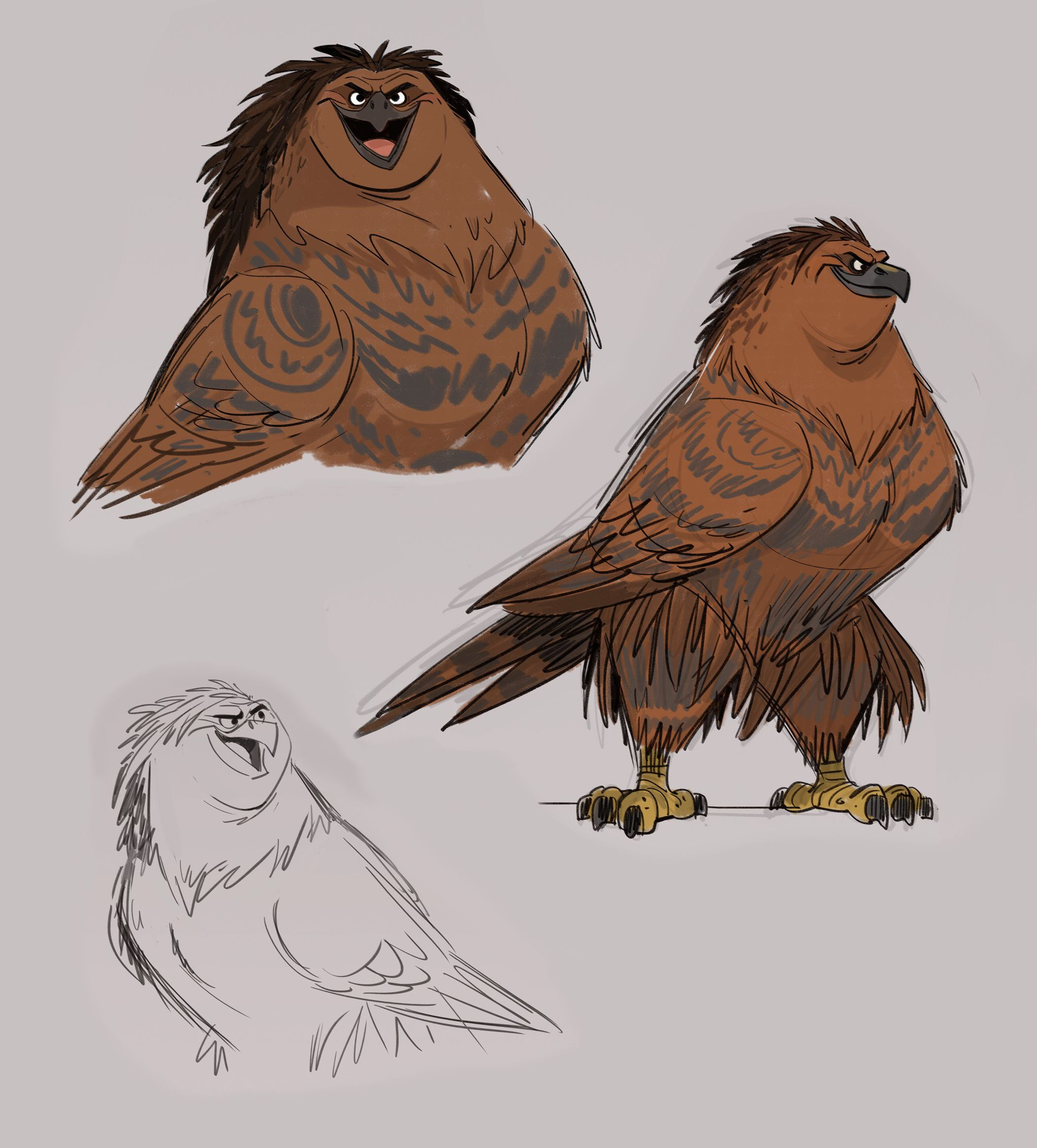Shapeshifter Character Design : Moana new images reveal concept art and storyboards
