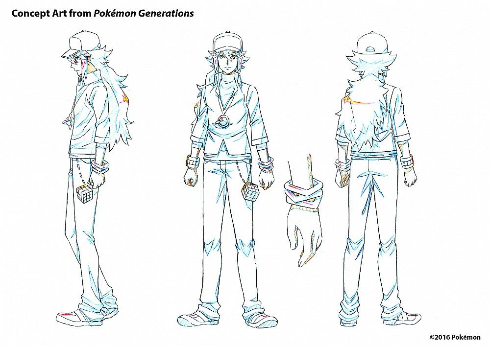 Character Design Companies : Pokemon generations animated series coming to youtube
