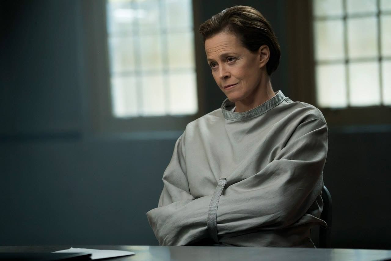 huge wall maps of the world, sigourney weaver deal of the century, sigourney weaver the tv set, julianne moore movie a map of the world, on sigourney weaver a map of the world