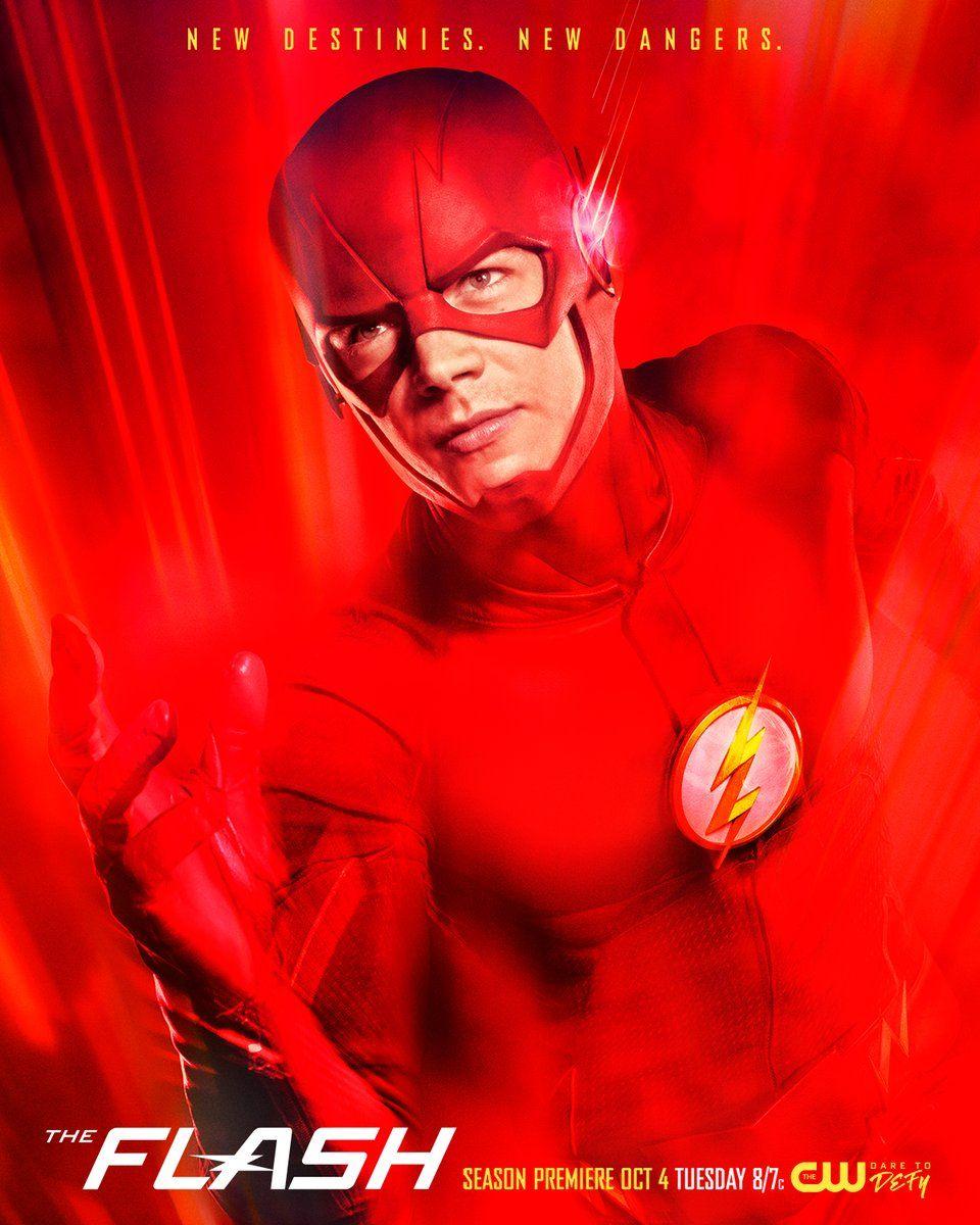 Spiksplinternieuw The Flash Season 3 Poster Has Got Red on It | Collider ND-06