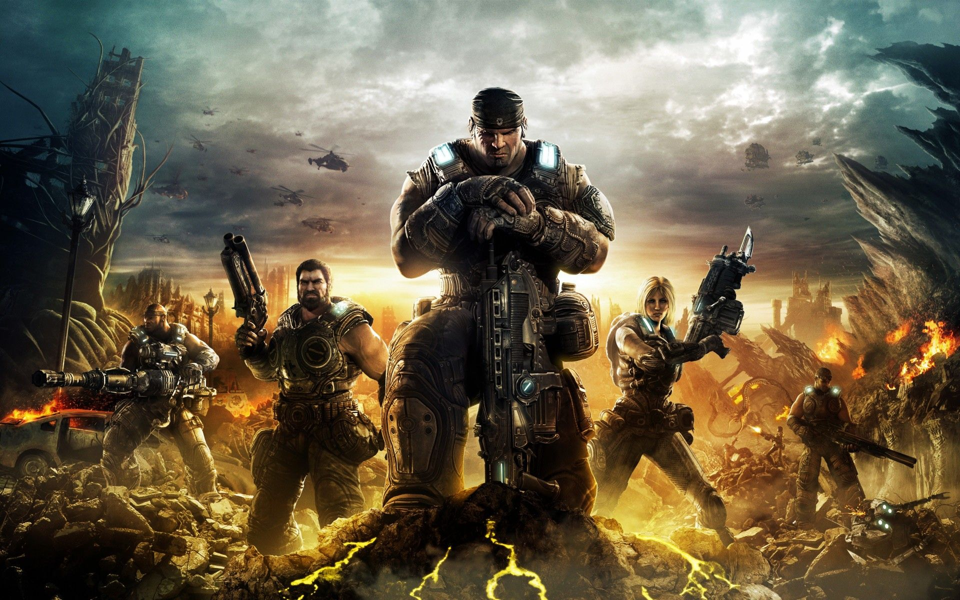 Gears of War movie is still go, gets Avatar screenwriter